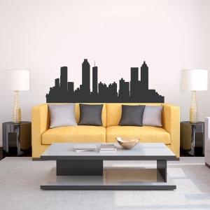 Atlanta Georgia Skyline Vinyl Wall Art Decal