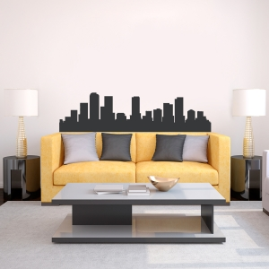 Denver Colorado Skyline Vinyl Wall Art Decal