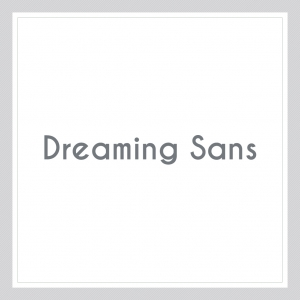 Dreaming Sans Custom Text Wall Decal