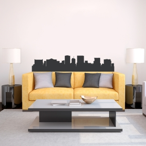 El Paso Texas Skyline Vinyl Wall Art Decal
