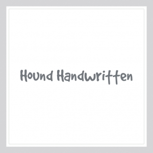 Hound-Handwritten-Custom Text Wall Decal