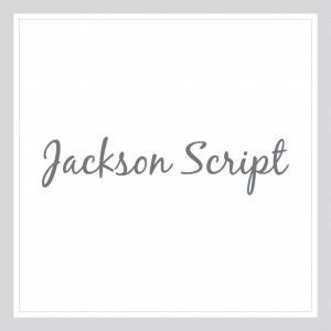 Jackson Script - Custom Text Wall Decal