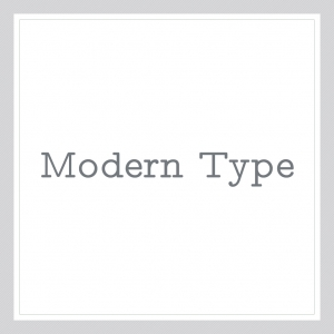 Modern-Type-Custom Text Wall Decal