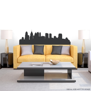 Philly Pennsylvania Skyline Vinyl Wall Art Decal