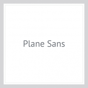 Plane-Sans-Custom Text Wall Decal