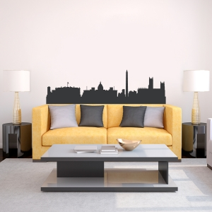 Washington D.C. Skyline Vinyl Wall Art Decal
