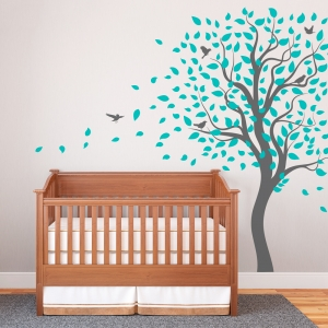 Lively Tree Wall Decal