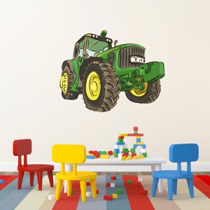 Tractor Wall Print Decal