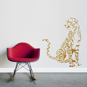 Cheetah Wall Decal