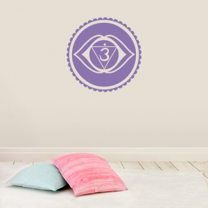 Third Eye Chakra Wall Decal