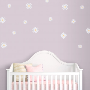 Delicate Daisies Printed Decal