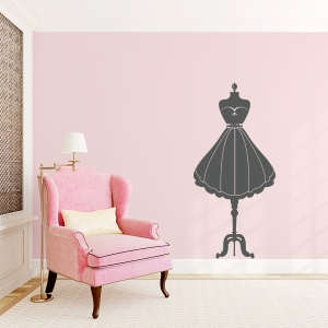 Fashion Mannequin Wall Decal