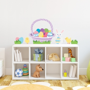 Easter Fun Printed Wall Decals