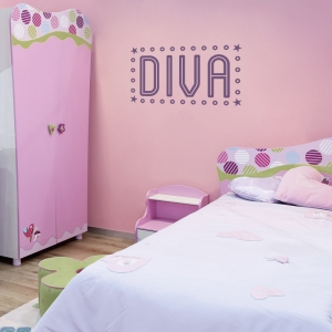 Diva Wall Quote Decal