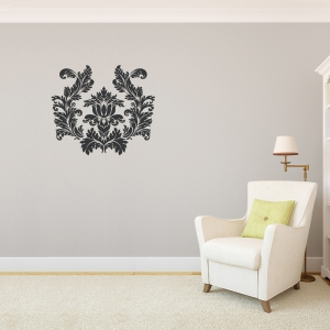 Damask Wall Decal & Abstract Shapes Vinyl Wall Decals and Wall Art - page 7
