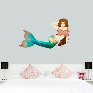 Mermaid Tales Printed Wall Decals