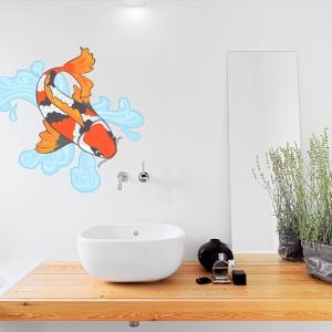 Koi Fish Wall Decal