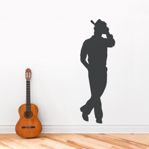 Cowboy Wall Art Decal