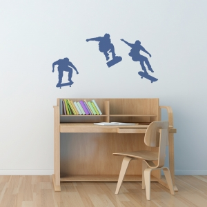 Skateboarding Wall Art Decal
