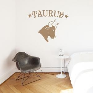 Taurus Zodiac Sign Wall Decal