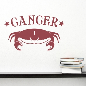 Cancer Zodiac Sign Wall Decal