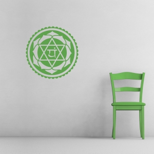Heart Chakra Wall Decal