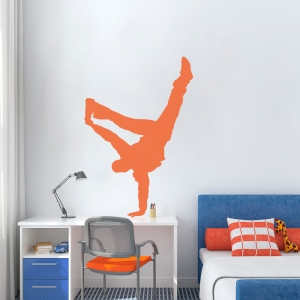 Hip Hop Dancer Wall Decal