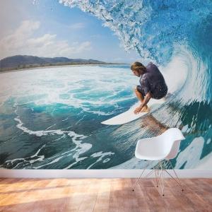 Big Surf Wall Mural