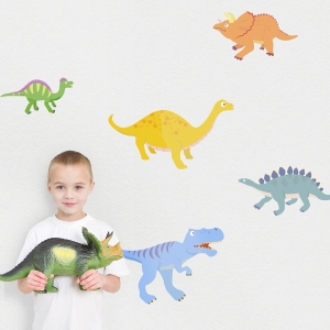 Dinosaurs Printed Wall Decal