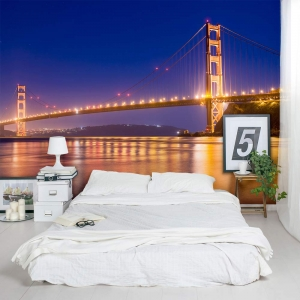Golden Gate Bridge Wall Mural