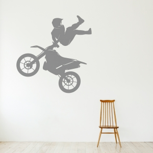 Motocross Freestyle Wall Decal