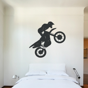 Motocross Jump Wall Decal