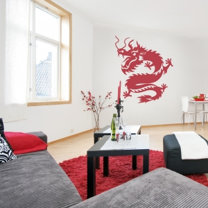 Chinese Dragon II Wall Art Decal