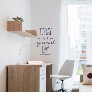 Think Happy - Be Happy Wall Decal Quote | Wallums Wall Decals
