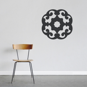 Organic Pattern Wall Art Decal