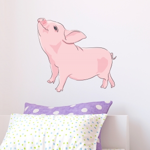 Piglet Printed Wall Decal