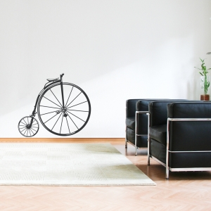 1800s Bike Wall Decal