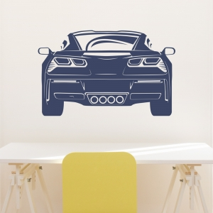 2014 Corvette Wall Decal