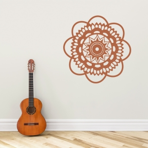 Bohemian Flower Wall Decal