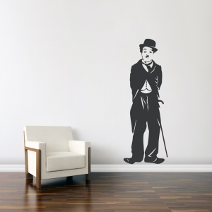 Charlie Chaplin Wall Art Decal