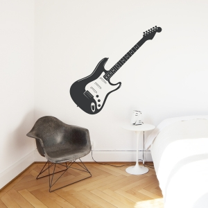 Electric Guitar Wall Decal