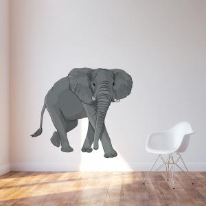 Elephant Printed Wall Decal