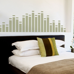 Equalizer Wall Art Decal