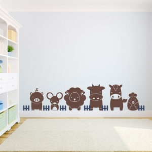 Farm Babies Wall Decal