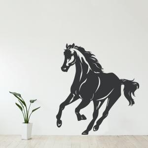 Galloping Horse Wall Art Decal