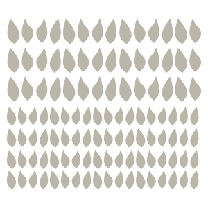 Wall Decal Leaf Set Four