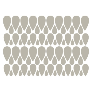 Wall Decal Leaf Set Three