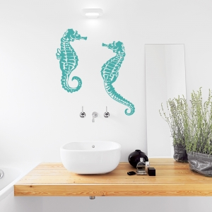 Seahorse Wall Decal