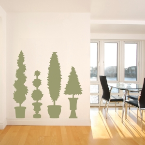 Topiary Wall Art Decal