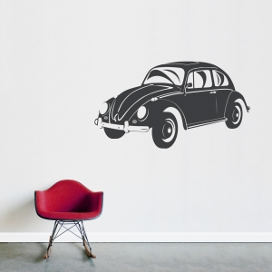 VW Bug Wall Decal